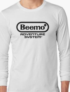 Beemo Adventure System (Black) Long Sleeve T-Shirt