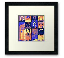 Doctors-Pop Framed Print
