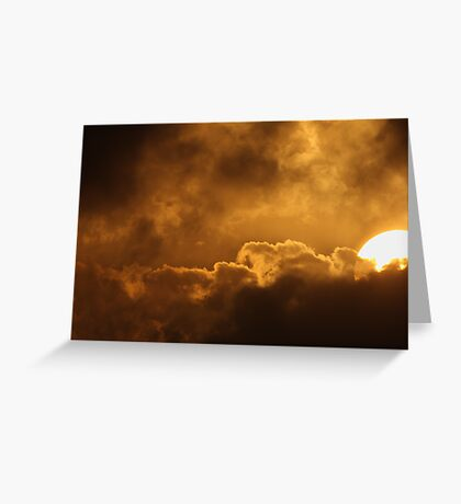 Spacetime Fracture Greeting Card