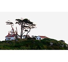 On The Hill Is A Lighthouse Photographic Print