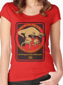Black Mesa rare imports. Women's Fitted Scoop T-Shirt