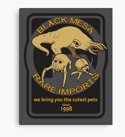 Black Mesa rare imports. Canvas Print