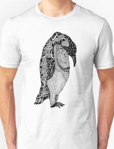 Penguin Zentangle T-Shirt