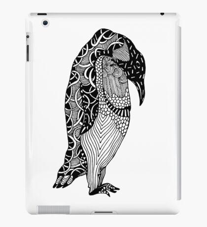 Penguin Illustration iPad Case/Skin