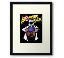 I'm the Bomberman! Framed Print