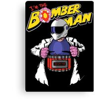 I'm the Bomberman! Canvas Print