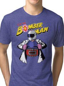 I'm the Bomberman! Tri-blend T-Shirt