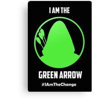 I am the Green Arrow Canvas Print