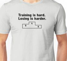 Training vs losers Unisex T-Shirt