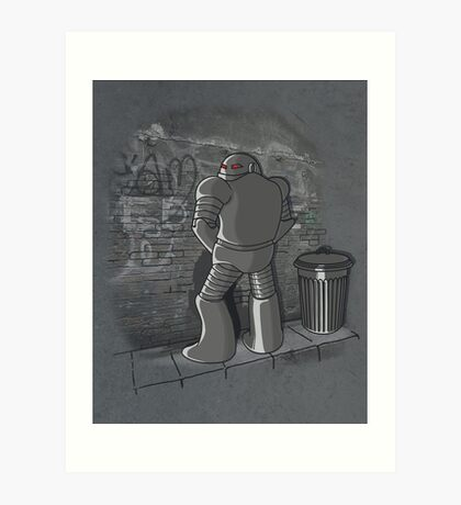 They do it too. Art Print