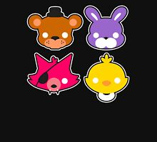 FNAF // Freddy's Faces Pattern Cute Kawaii Chibi for kids Unisex T-Shirt