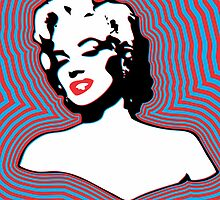 Marilyn Monroe - Forever Too - Pop Art by wcsmack