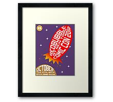 Liftoff Framed Print