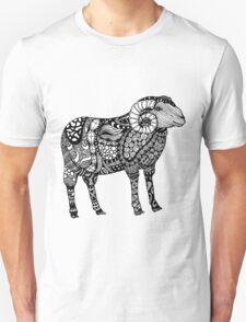 Ram Sheep Zentangle T-Shirt