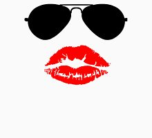 Aviator Sunglasses and Kiss Unisex T-Shirt