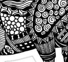 Ram Sheep Illustration Sticker