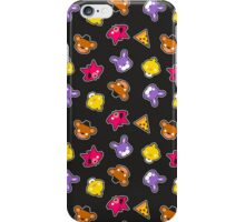 FNAF // Freddy's Faces Pattern Cute Kawaii Chibi for kids iPhone Case/Skin