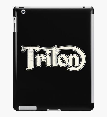 Triton Classic Motorcycles in Vintage Cream iPad Case/Skin