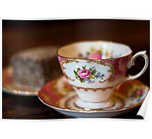 Tea and Lamington time Poster