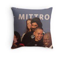 Mister Bling Throw Pillow