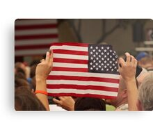 Backwards Patriotism Metal Print