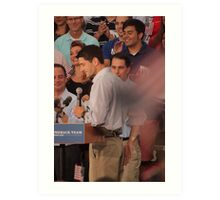 Paul Ryan wafts one to the crowd Art Print