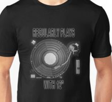 """Regularly plays with 12"""" Unisex T-Shirt"""