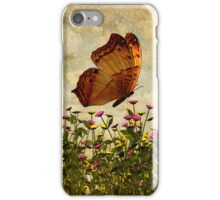 Butterfly and Flowers iPHONE Case iPhone Case/Skin