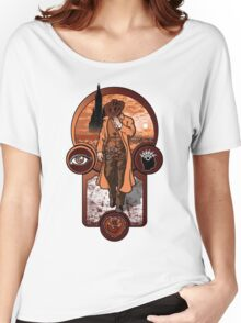 The Gunslinger's Creed. Women's Relaxed Fit T-Shirt