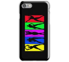 Gamer Girls Silhouettes iPhone Case/Skin