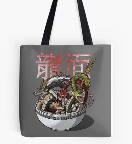 Dragon Noodles Tote Bag