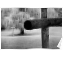 Weeping Crosses Poster
