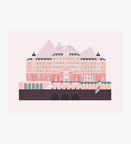 Grand Budapest Hotel  Photographic Print