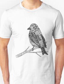 Bird Zentangle T-Shirt