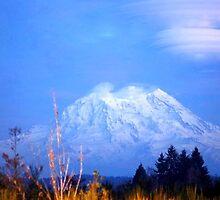 Mt. Rainier by trueblvr
