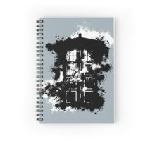 Time travel is ART Spiral Notebook