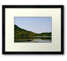 Natural Reflection Framed Print