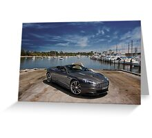 Aston Martin DBS Volante Greeting Card