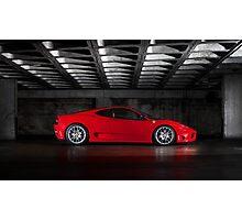 Ferrari Challenge Stradale Photographic Print