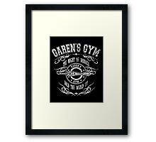 Garen's Gym Framed Print