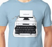 Write On Typewriter Unisex T-Shirt