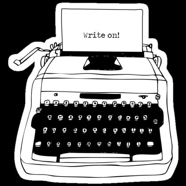Write On Typewriter by Karl Whitney