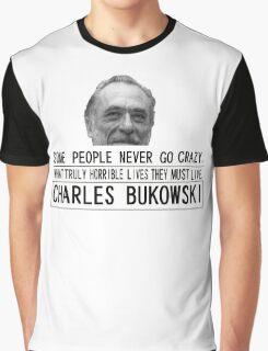Bukowski Crazy Graphic T-Shirt