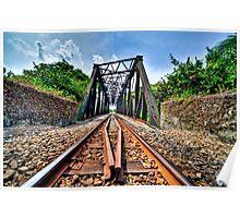 Bukit Timah Tracks Poster