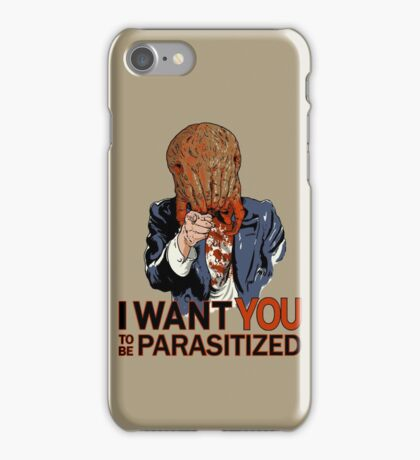 Parasitized. iPhone Case/Skin