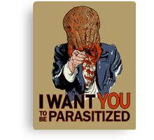 Parasitized. Canvas Print