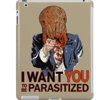 Parasitized. iPad Case/Skin