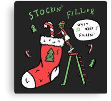 Stockin' Filler Canvas Print