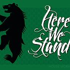 House Mormont Sigil Poster 2 by P3RF3KT