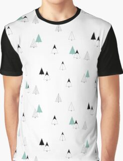 Pine Trees Graphic T-Shirt